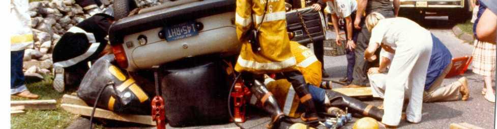 Lampe lifter auto ongeluk