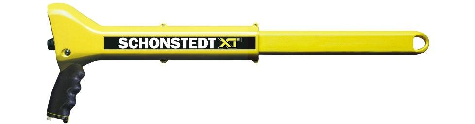 XTd Metaaldetector uitgetrokken